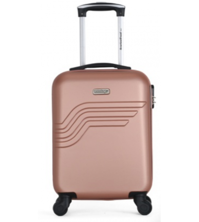 valise cabine -collection QUEENS-E - Rose