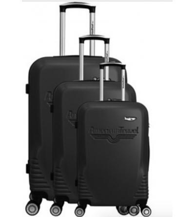 Lot de 3 valises - collection DC - Noir