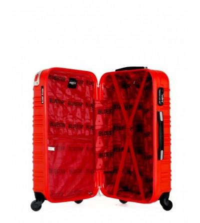 Valise moyen séjour en ABS - Modèle Lima-c - Rouge