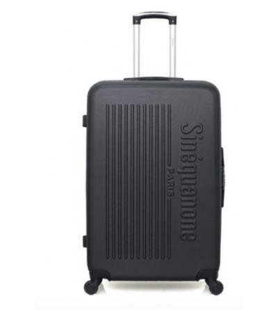 valise cabine en ABS - modèle Ceres - Noir