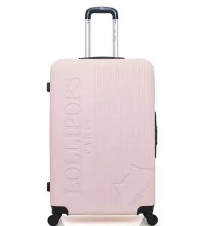 valise cabine en ABS - modèle Gardenia-C - Rose